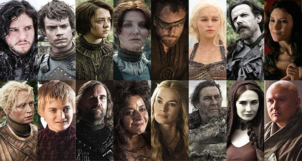 Game of thrones karakterler