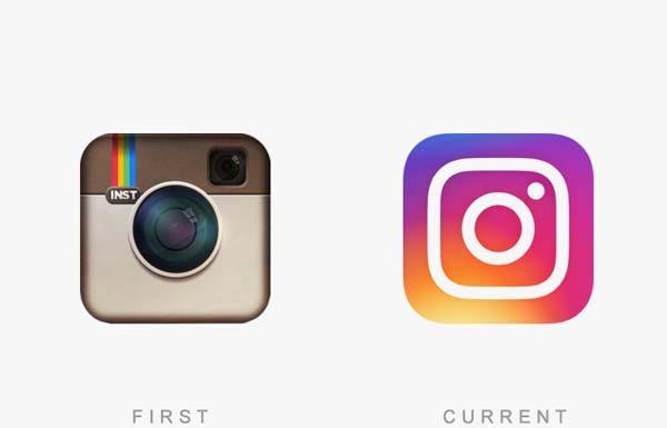 instagram eski ve yeni logosu