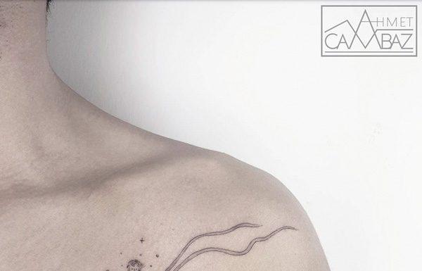 Sadeliğiyle Büyüleyen Minimalist Dövmeler