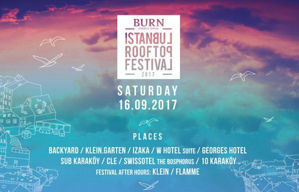 Burn İstanbul Rooftop Festivali 2017