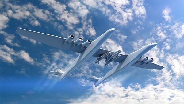 Dünyanın En Büyük Uçağı Stratolaunch Test Edildi